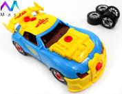 Take-A-Part Toy Racing Car