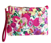 Betsey Johnson Cosmo Pouch T-Bottom Floral Cosmetic Bag