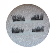 TaraSun Super soft silk artificial magnet eyelashes woman makeup magnetic eyelash popular 3d lashes glueless saving time