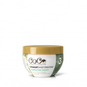 Conscious Collective Straight Transformations Smoothing Deep Treatment, 97 Percent Natural Paraben Free Deep Conditioner Mask, for Smoothing and Hair Growth Stimulation, 240ml