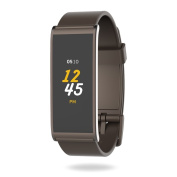 MyKronoz Zefit4-Brown Fitness Activity Tracker with Colour Touchscreen & smart notifications - Brown