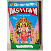 Dasangam Pure Original Dhoop Powder for Hindu Pooja, Hawan, Festival, 100gm