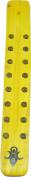 Goddess Symbol Painted Canoe Incense Burner [Yellow - 25cm ]