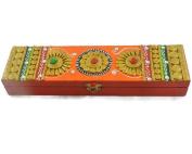 Eurasia Handmade Handpainted Wooden Agarbatti Dhoop Holder Home Decor