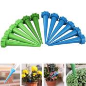 YRD TECH 12× Automatic Watering Irrigation Spike Garden Plant Flower Drip Sprinkler Gift