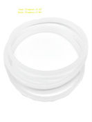 Sduck 3x Rubber Gasket Replacement Parts for 6.4cm 6 pin Rubber Blade Nutri Ninja BL660 30 BL770 30 BL771 30 BL773 30 BL780 30 Blender