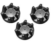 3 Pack Blender Rubber Coupler Clutch for KitchenAid 9704230, AP2930430, PS401661