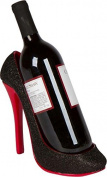 22cm x 18cm H High Heel Wine Bottle Holder - Stylish Conversation Starter Wine Rack By Trademark Innovations