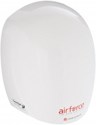World Dryer J-974 Airforce Hi-Speed Energy Efficient Automatic Hand Dryer with Aluminium White Cover, 110-120V
