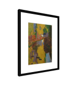 "Paul Sérusier - Der Talisman - 11,81"" x 15,75"" inch (30x40 cm) - Picture with frame / Framed poster - Art print - wall art - artists, paintings, photography - Old Masters / Museum"