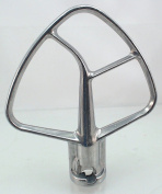 Mixer 4.3l Burnished Flat Beater for KitchenAid, AP5949709, WPW10635687
