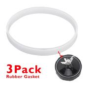Uniquebella 3pcs Blender Juicer Replacement Parts blade rubber gasket fit for Nutri Ninja Auto-IQ Blender