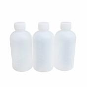 10PCS 100ML Plastic Graduated Scale bottle-Empty Semitransparent Laboratory Chemical Agent Sample Bottle Jar Storage Case Container Pot