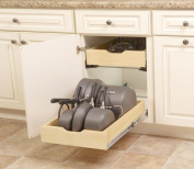 Real Solutions for Real Life 19cm . x 39cm . x 30cm . Pot and Pan Cabinet Organiser