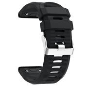 Band for Garmin Fenix 5X, Soft Silicone Replacement Watch Band Strap for Garmin Fenix 5X / Fenix 3 / Fenix 3 HR Smart Watch, Fit 14cm - 21cm ,