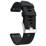 Band for Garmin Fenix 5S, Soft Silicone Replacement Watch Band Strap for Garmin Fenix 5S Smart Watch, Fit 13cm - 21cm ,