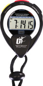 Stopwatch - Multi-function Electronic Sports Stopwatch - Large Display with Date Time and Alarm - Ideal for Sports Coaches, Fitness Coaches and Referees - by Utopia Fitness