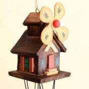 Metal Wind Chimes House Hanging Ornament Chinese Yunnan Unique Windmill Copper Wind Bell#1