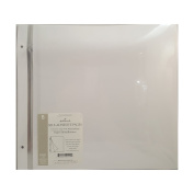 Hallmark Albums AR 2002 12 X 12 Self-Adhesive Pages for 30cm X 3.7m Post Bound Albums