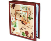 Butterfly Botanical Floral Classic Decoupage Large Photo Album