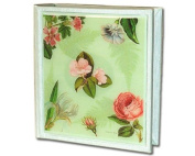 Fern Botanical Floral Classic Decoupage Small Photo Album