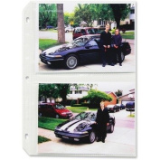 CLI52572 - C-line Clear Photo Pages for Four 5x7 Photos