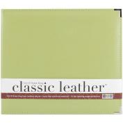 We R Classic Leather 3-Ring Album 12x12-Kiwi