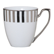 Ciroa Stripes Platinum Coffee Mug 300ml