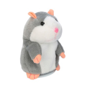 iHee Cute Mimicry Pet Adorable Interesting Hamster Speak Talking Mouse Plush Electronic Animal Kids Toy