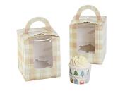 Gear4Fun Single Cupcake Box Of Handle With PVC Window 12 Of Pack