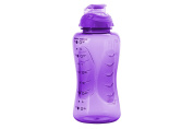 Smash PP Shaker Drink Bottle with Water Timings, Purple, 750 ml