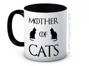 Mother of Cats - Game of Thrones Parody - Funny High Quality Coffee Tea Mug