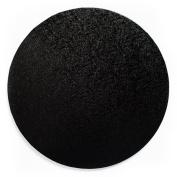 25cm Round Black Cake Drum