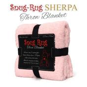Pink Quartz- Snug Rug Luxury Sherpa Fleece Throw Blanket [Special Edition]