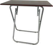 Wee's Beyond 1306 Over-Sized TV Tray Folding Table, Cherry