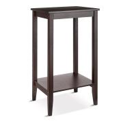 HOMFA Bamboo Tall End Table Sofa Couch Side Coffee Table Simple Design Multipurpose Modern Home Furniture, Retro Colour