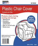 AllBoxes Direct SP-9050 Plastic Chair Cover Protection For All Your Moving & Storage