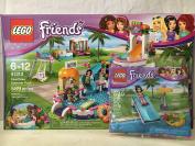 LEGO Friends Heartlake Summer Pool & LEGO Friends Pool Foam Slide Mini Set