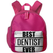 Pocket Design BagBest Dentist Ever Childrens'bag Toddler Preschool Backpack Children ComfortBackpacks School Bag