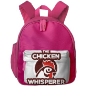 Pocket Design BagThe Chicken Whisperer Childrens'bag Toddler Preschool Backpack Children CuteBackpacks School Bag