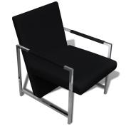 Festnight Modern Tub Artificial Leather Cube Chair Club Armchair