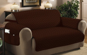 Home Sweet Home Quilted Slip Cover Furniture Protector
