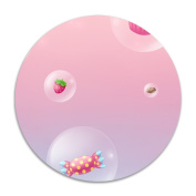 ROSE MAGEE Strawberry And Candy Thin Customised Comfortable Chair Pads Cushion Furniture Round Felt Pads
