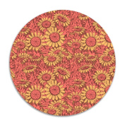 ROSE MAGEE Sunflower Thin Customised Breathable Chair Pads Cushion Furniture Round Felt Pads