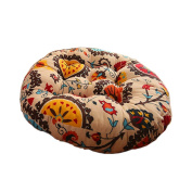 Ethnic Style Round Chair Cushions Seat Pad Floor Pillow Decorative Pillows, B