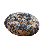 Ethnic Style Round Chair Cushions Seat Pad Floor Pillow Decorative Pillows, A