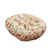 Round Chair Cushion Round Floor Cushions Tatami Pillow Seat Pad for Home, E