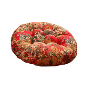Ethnic Style Round Chair Cushions Seat Pad Floor Pillow Decorative Pillows, G