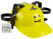 Two Can Happy Emoji Drinking Hard Hat