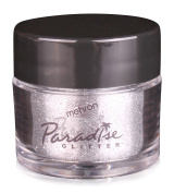 Mehron Makeup Paradise AQ Glitter Face and Body Paint, SILVER - .740ml